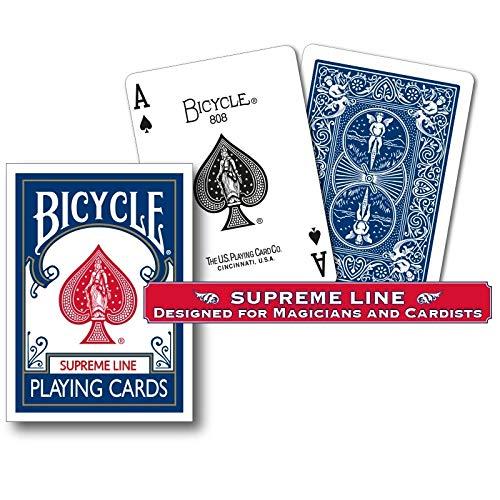 Mazzo di carte Bicycle - Supreme Line - Blue Back