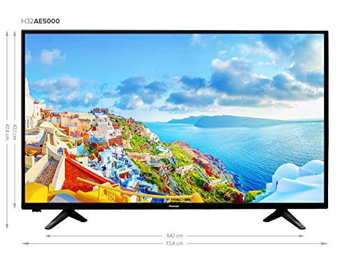 "Hisense H32A5000 - TV Hisense 32"" Full HD, Motion Picture Enhancer, Clean View, DVB-T2 + S2, USB Media, HDMI, Natural Color Enhancer, Clear Sound miniatura"