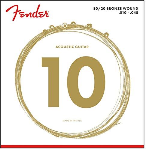 Fender 70XL Acoustic Guitar Strings 010/048