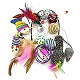 Katzenspielzeug, PietyPet Katze Toys Variety Pack, Spielzeug für Katzen Kitty,...