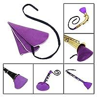 きれいな布、きれいな道具、鹿革のきれいな手入れ、チューブ内部のサックス用の柔らかい楽器