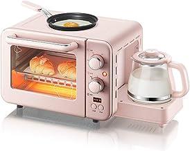 3 en 1 desayuno Maker (Caldera, Multi Función horno tostador, plancha antiadherente)