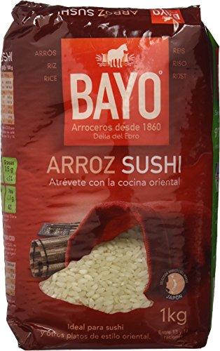 Bayo Arroz Sushi - Paquete de 12 x 1000 gr - Total: 12000 gr