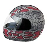 Helmet Dress Funda Casco Integral Moto Serpiente Pitón