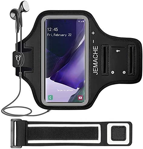 Galaxy Note 20 20 Ultra Armband JEMACHE Gym Running Workouts Water Resistant Arm Band Case for product image
