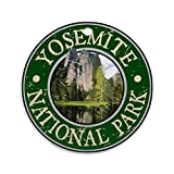 EaYanery Yosemite NAT Park Design Ornamento (redondo) personalizado de cerámica para día festivo Navidad Ideas 2019