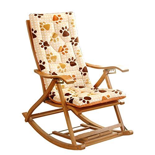 Cojín para balancín para interior y exterior, cojín para silla mecedora, cojín para silla, cojín acolchado grueso para silla, cojín para silla, cojín para silla, cojín para silla, 48 x 120 x 6 cm