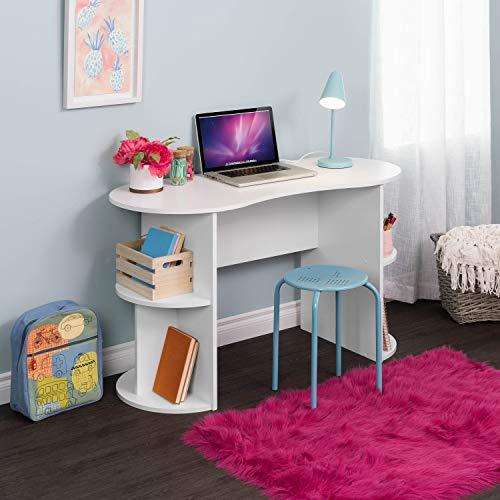 Prepac Kurv Compact Student Desk, White