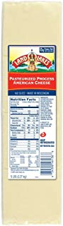 Land O Lakes White 160 Slice Processed American Cheese, 5 Pound -- 6 per case.