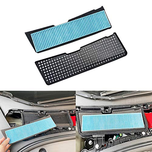 KIKIMO 2021 Tesla Model 3 Air Filter Intake Accessories Replacement, Tesla Model 3 Accessories, Air Intake Grille ABS Protection Cover