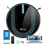 Proscenic 850T Wi-Fi Connected Robot Vacuum Cleaner, Works with Alexa & Google Home, 3-in-1 Mopping,...