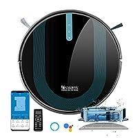 Alexa & Google Home & Appsteuerung: Mit Alexa und Google Home (Skill Name: ProscenicRobot) können Sie die Reinigung per Sprachbefehl steuern. Durch ProscenicHome App können Sie Reinigungspläne machen, Reinigungsmodi wechseln, von überall aus die Rein...