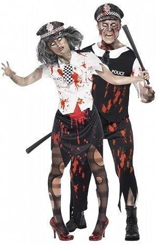 estar en gran demanda Para hombre & & & para mujer Police par de disfraz de grupo de muerto de zombi WPC policía acuerdo con la Ley completa regulación de Kung emergencia Servives Halloween disfraces de fiesta equipos  tienda de ventas outlet