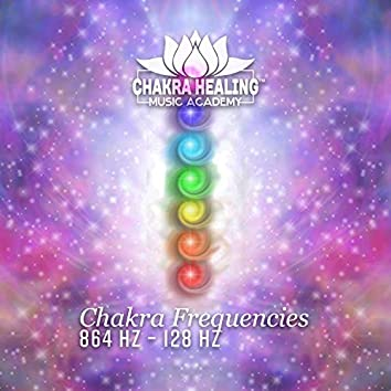 Chakra Frequencies – 864 Hz – 128 Hz: Healing & Meditation, Sounds Medicine for Full Body Curative