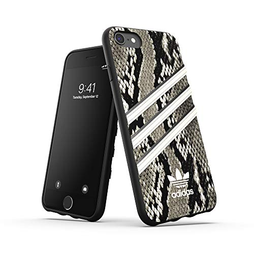 adidas Originals - Carcasa para iPhone 6/6S/7/8, diseño de Serpiente, Color Negro