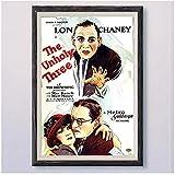 FRTTCYO Poster DIE UNheiligen DREI (2) Vintage Classic