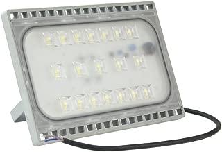 WISD 50W LED Focos de Exterior, IP65 Ultralight Ultraslim Proyector Reflector, Para Jardín,Patio,Iluminación Cuadrada (Blanco Frío)