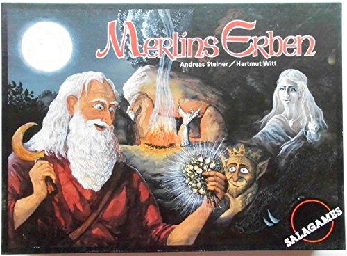 Merlins Erben. Brettspiel. Salagames 3006.