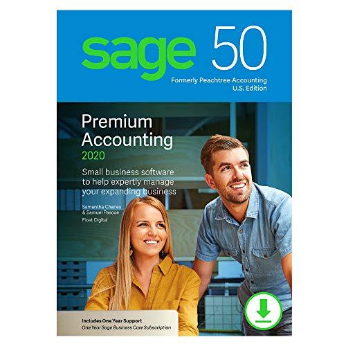 Sage 50 Premium Accounting 2020 U.S. 1-User [PC Download]