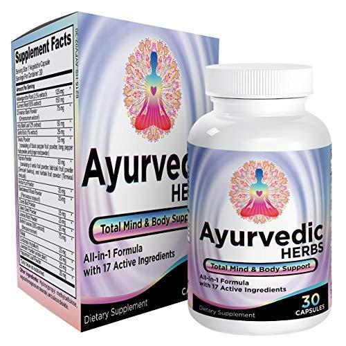 All-in-1 Ayurvedic Herbs/Supplements - Ayurveda Mind/Body/Spirit Herbal Formula Supplement/Pills