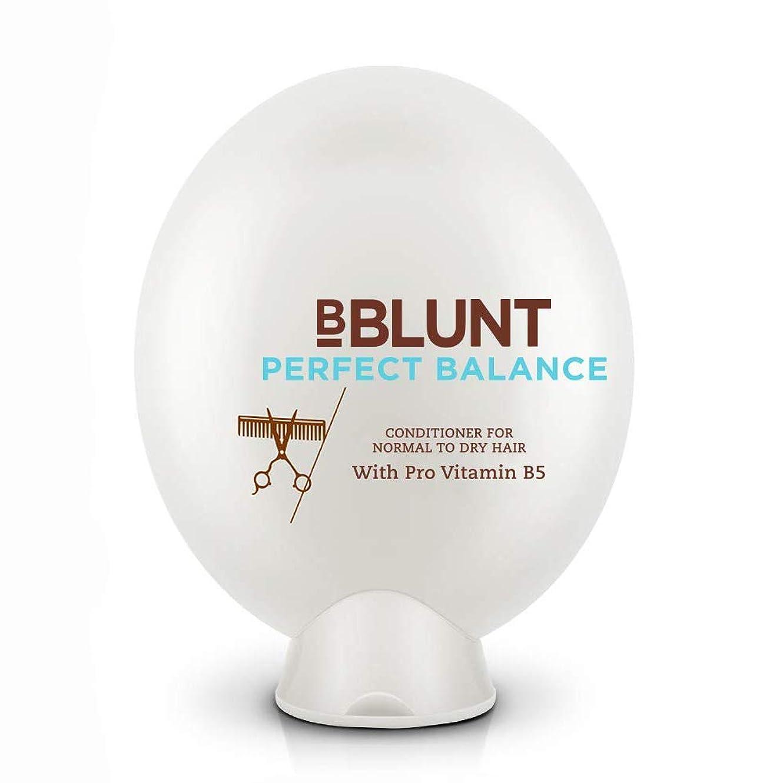 弱点ドリルパーチナシティBBLUNT Perfect Balance Conditioner for Normal To Dry Hair, 200g (Provitamin B5)