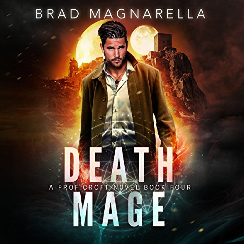 Death Mage audiobook cover art