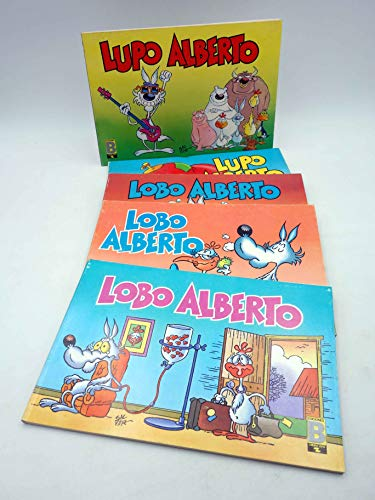 LUPO LOBO ALBERTO 1 2 3 4 5. Colección Completa. B. Oferta