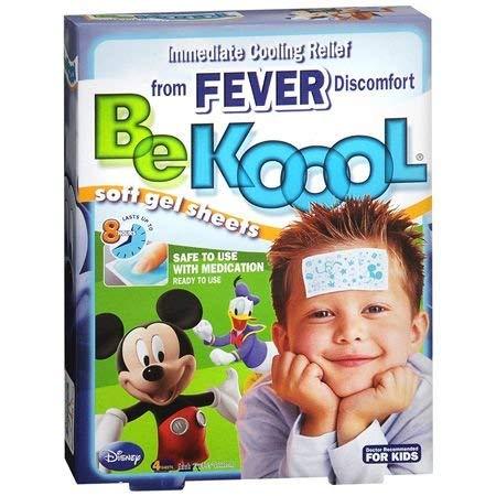 Be Koool Gel P Alivio Imediato Da Febre