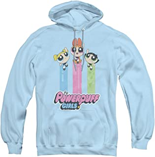 Powerpuff Girls The Girls Fly Unisex Adult Pull-Over Hoodie for Men and Women