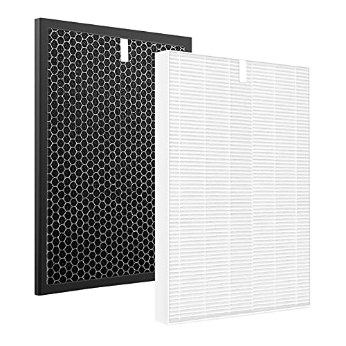 iSingo HR900 Replacement Filter Compatible for Winix HR900 Air Purifier H13 True HEPA Filter. Replaces Part # 1712-0093-00 / Filter T, 1712-0094-00 / Filter U…