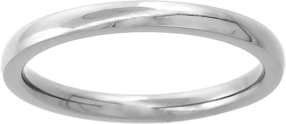 Sabrina Silver Rare 2mm Titanium Wedding Ring 2021 autumn and winter new Pla Thumb Band Toe