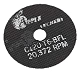 Apple Black Silicone Replacement Saw Blades Reinforced 3''
