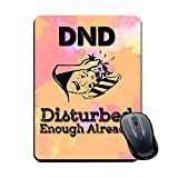Plan To Gift Gaming Mouse Pad DND Disturbed enoigh Already Printed Multicolour Size