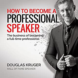How to Become a Professional Speaker audiobook cover art