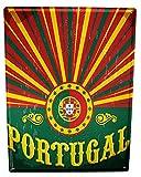 LEotiE SINCE 2004 Cartel Letrero de Chapa XXL Agencia De Viajes Vacaciones Portugal