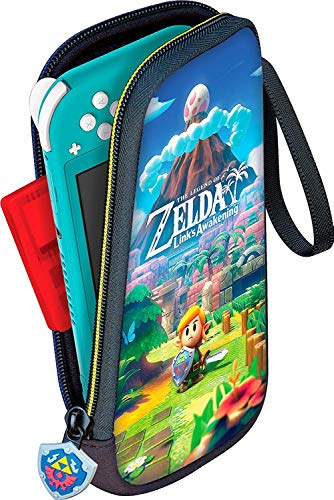 Bigben Estuche Awakening de Zelda Link para Nintendo Switch Lite