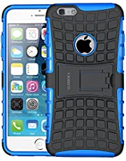 iPhone 6 Case,iPhone 6s Case, ALDHOFA Heavy Duty Shock Proof Rugged Armor Protective Phone Case,Dual Layer Hybrid Cover with Kickstand for iPhone 6/6s