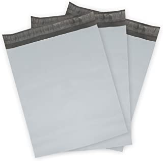 """100 Count #00 4 x 6 Oknuu Packaging Supplies Inch White Poly Mailers Self-Sealing Shipping Envelopes Plastic Mailing Bags 2.5 Mil Thickness 4""""x6"""" PM4X6 (100 Pack)"""