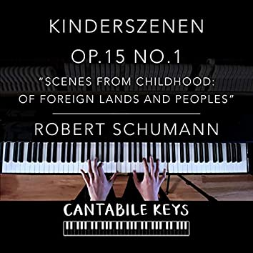 Kinderszenen Op. 15 No. 1 (Scenes from Childhood: Of Foreign Lands and Peoples)