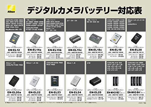 Nikon EN-EL14a Lithium Ion Rechargeable Battery for Camera