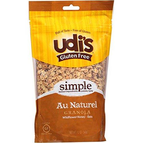 Gluten Free Au Naturel Granola Wildflower Honey Oats,Whole Grains 12 Oz