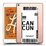 Head Case Designs Cancún, México Etiquetas de Equipaje 3 Carcasa de Gel de Silicona Compatible con Apple iPad Mini (2019)