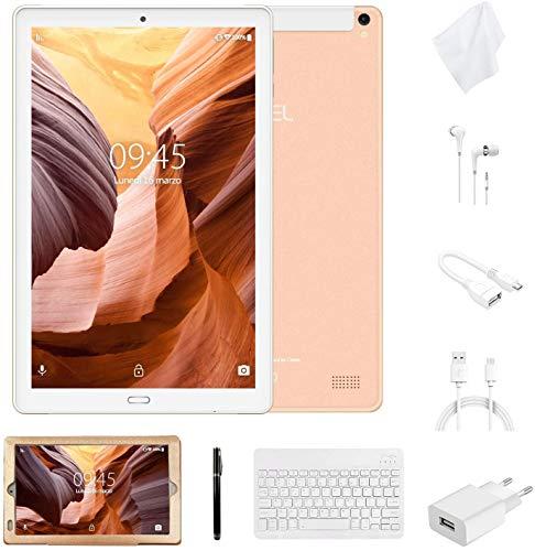 tablet lenovo 10 pollici 4g wi-fi Tablet 10 Pollici con Wifi Offerte Tablet PC 4G LTE Dual SIM /WiFi tablet Android 8.0 con 3GB di RAM e 32GB ROM Batteria 8000mAh-(Sblocco Facciale