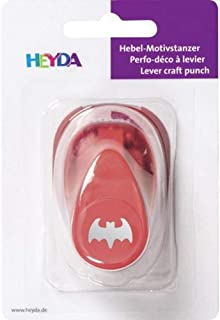 Puncher Red 15mm - Bat, Hole Punch, Art Supplies, Heyda