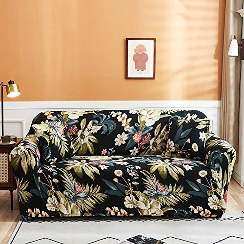 PPMP Funda de sofá elástica para Sala de Estar Funda de sofá elástica Funda de sofá elástica Funda de sillón de Esquina en Forma de L A19 3 plazas
