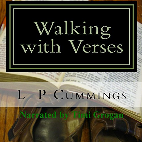 Walking with Verses audiobook cover art