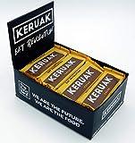 Pack 12 barritas KERUAK Cacao 50gr. veganas, raw, sabor cacao puro y avellana