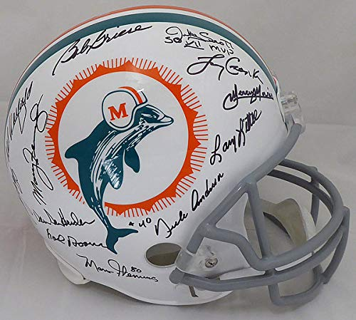 Bob Griese Miami Dolphins NFL Hand Signed Full Size Replica Helmet