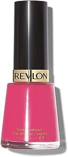 Revlon Nail Enamel, Chip Resistant Nail Polish, Glossy Shine Finish, in Pink, 290 Optimistic, 0.5 oz
