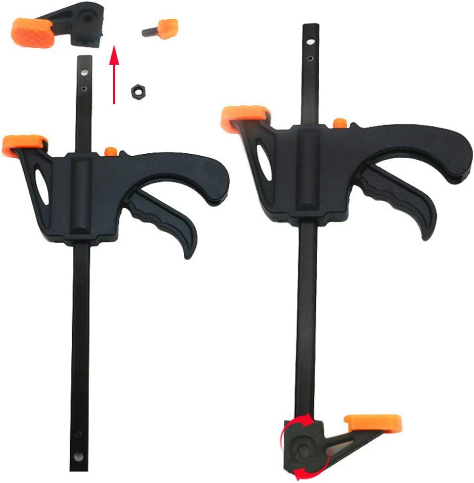 2 x Super-cheap 910mm Wood Working Bar F Quick Ratchet Grip Clamps Set Clamp Over item handling ☆